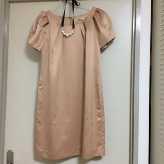 デュアルスレッド(Dual THREAD)のシャンパンゴールド ドレス(その他ドレス)