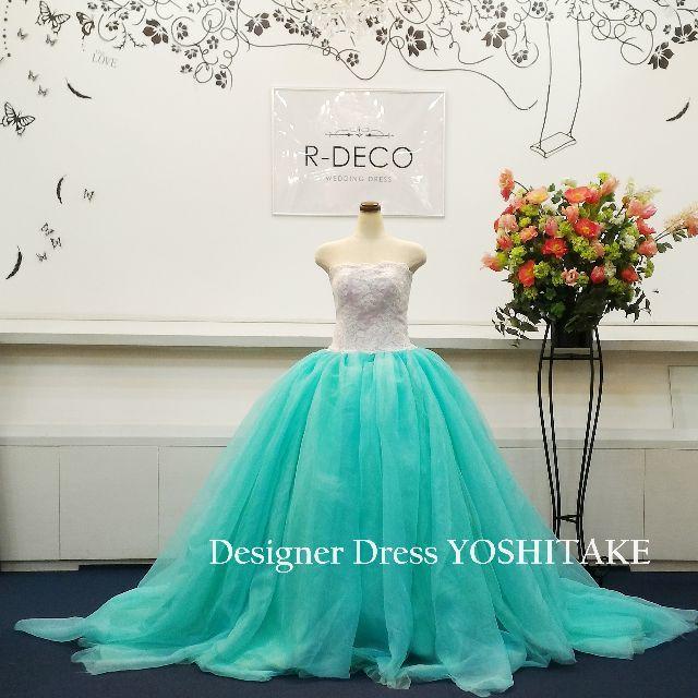 ウエディングドレス プリンセスシリーズアリエル風 披露宴/お色直し レディースのフォーマル/ドレス(ウェディングドレス)の商品写真