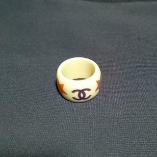 シャネル(CHANEL)のtoaratoara様専用★シャネル  プラスチック  指輪  リング(リング(指輪))