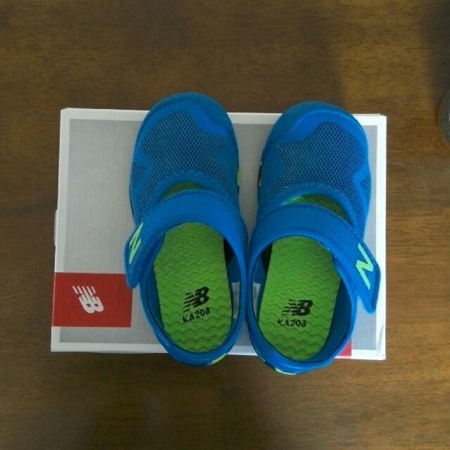 美品 水陸両用靴 16センチ 名前等の明記無し ホームクリーニング済み