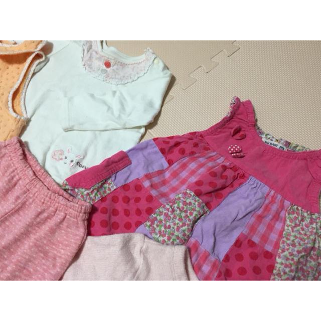 9f689f878fa12 coeur a coeur - 女の子 洋服 80〜90cm キムラタン クーラクール等の通販 ...