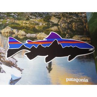 パタゴニア(patagonia)のパタゴニア patagonia 大 魚 サカナ fish ステッカー (その他)