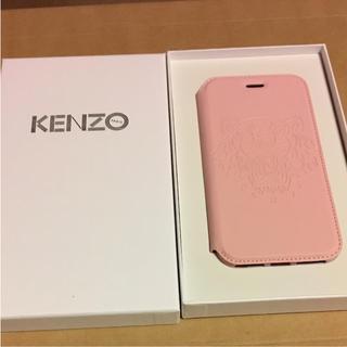 ケンゾー(KENZO)の新品 KENZO iPhone8 スマホケース  ピンク(その他)