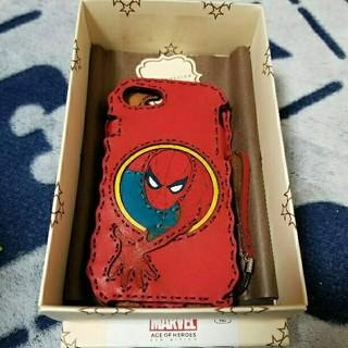 フォルクバイオジャガデザイン(VOLK by ojaga design)のマーベル展限定 オジャガデザイン スパイダーマン iPhone7、8対応ケース(iPhoneケース)