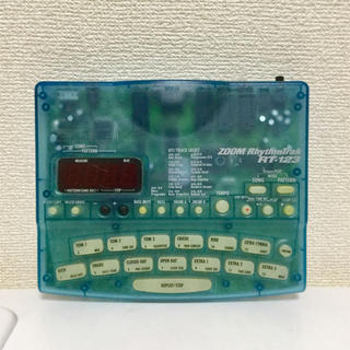 ズーム(Zoom)のzoom Rhythmtrak RT123 専用アダプタ付き(その他)