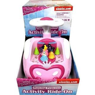 ディズニー(Disney)のアクティビティ ライドオン ダンシング プリンセス 乗用玩具(手押し車/カタカタ)