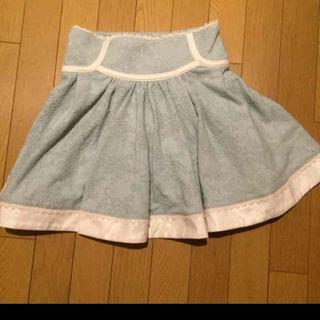 リズリサ(LIZ LISA)のLIZ LISA キレイな緑のスカート(ひざ丈スカート)