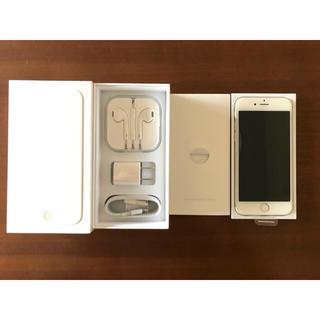 アップル(Apple)の新品同様/iPhone6/64GB/au/シルバー(スマートフォン本体)