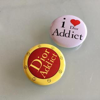 ディオール(Dior)のDior 缶バッジ (バッジ/ピンバッジ)