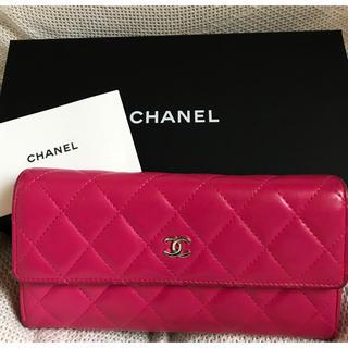 シャネル(CHANEL)のCHANEL長財布  美品❣️(財布)
