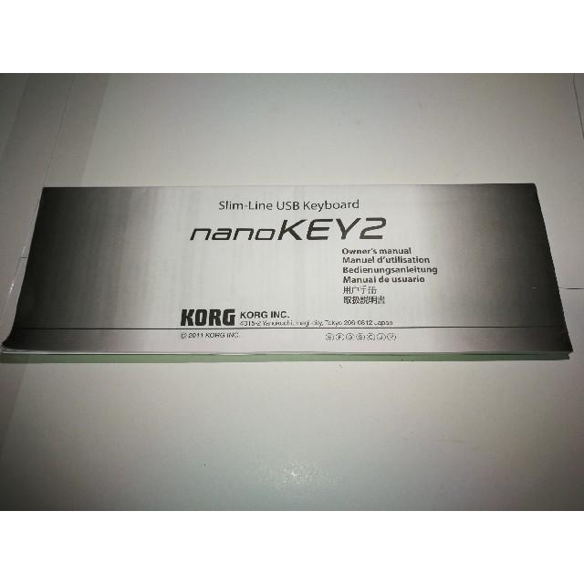 KORG(コルグ)のKORG nano KEY2 ブラック 最終値下げ 楽器のDTM/DAW(MIDIコントローラー)の商品写真