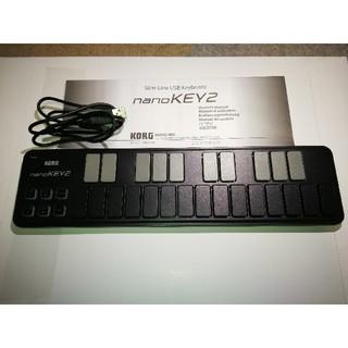 コルグ(KORG)のKORG nano KEY2 ブラック 最終値下げ(MIDIコントローラー)
