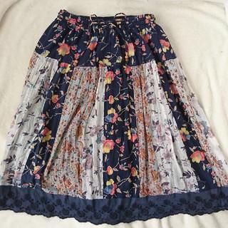 ジュンクラブ(JUNCLUB)のレディースM☆JUN CLUB スカート ペチコート付き(ひざ丈スカート)