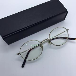 ゾフ(Zoff)のゾフ 眼鏡 ゴールド×べっ甲風(サングラス/メガネ)
