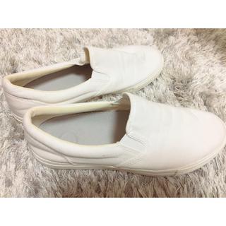 ムジルシリョウヒン(MUJI (無印良品))の無印♡白い靴(スニーカー)
