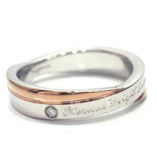 E53 中古 リング 指輪 メッセージリング  結婚指輪 ダイヤモンド(リング(指輪))