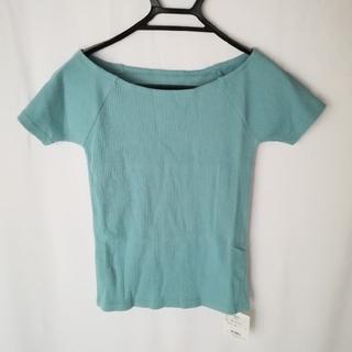 スライ(SLY)の【タグ付き】SLY シャツ エメラルドグリーン(Tシャツ(半袖/袖なし))