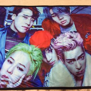 ビッグバン(BIGBANG)のBIGBANG 一番くじ ビジュアルブランケット(おくるみ/ブランケット)
