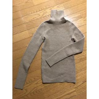プラダ(PRADA)の美品 Prada プラダ セーター タートルネック ニットサイズ38、7号、S(ニット/セーター)