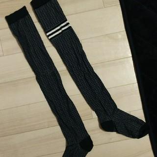 アディダス(adidas)のアディダス♡ニーハイソックス(ソックス)