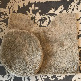 フランフラン(Francfranc)のトイレマット トイレカバー ベルメゾン フランフラン アフタヌーンティー トイレ(トイレマット)