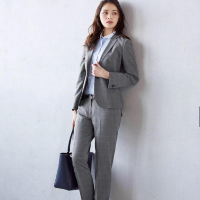 ORIHICA(オリヒカ)のタグつき未使用!オリヒカ セットアップ3点スーツ レディースのフォーマル/ドレス(スーツ)の商品写真