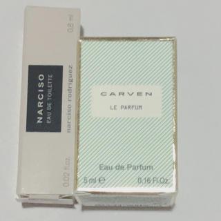 カルヴェン(CARVEN)のカルヴェン ナルシソ オードトワレミニサイズ(香水(女性用))