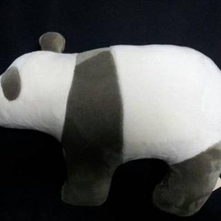 MUJI (無印良品) - 動物クッション プレゼント用布袋付き パンダ 限定品