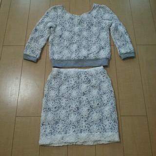 プロポーションボディドレッシング(PROPORTION BODY DRESSING)の花柄スウェットセットアップ(トレーナー/スウェット)