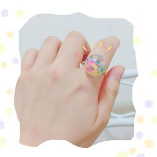 フラワー(flower)の古着 ポッピングシャワーリング(リング(指輪))