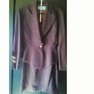 ティエリーミュグレー(Thierry Mugler)のミュグレー Thierry Mugler ダークブラウン スーツ(スーツ)