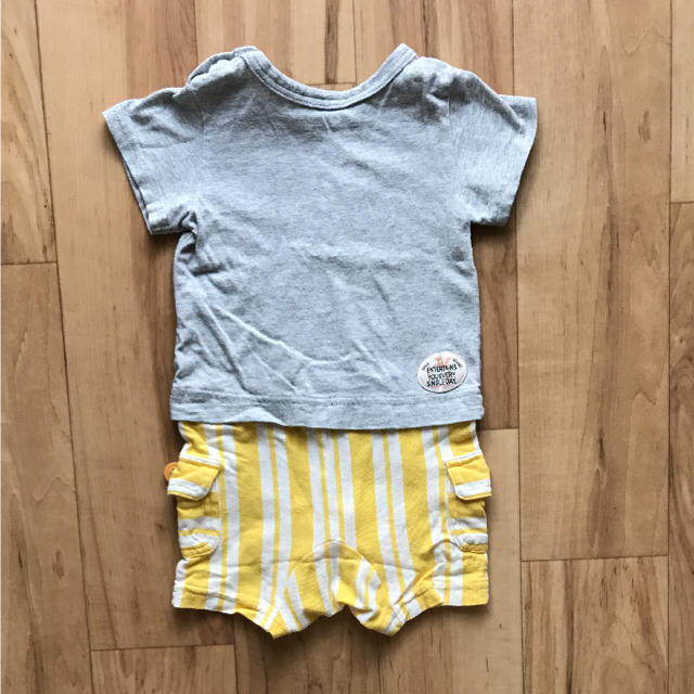 BREEZE(ブリーズ)のロンパース ブリーズ キッズ/ベビー/マタニティのベビー服(~85cm)(ロンパース)の商品写真