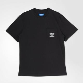 アディダス(adidas)のS【新品/即日発送OK】adidas オリジナルス Tシャツ ポケット 黒(Tシャツ/カットソー(半袖/袖なし))