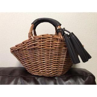 シマムラ(しまむら)のしまむら即完売♡かごバッグ(かごバッグ/ストローバッグ)