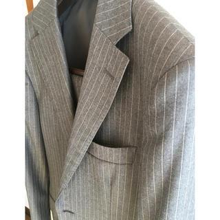 ミツミネ ロロピアーナ フラノ120's スーツ 42 Y4