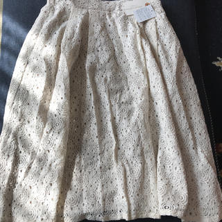 クロスカンパニー フレアレーススカート