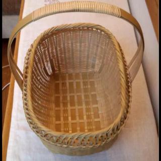 ムジルシリョウヒン(MUJI (無印良品))の柚木一徳 さんの 竹かご 竹籠 D&DEPARTMENT 市川商店 好きに(バスケット/かご)