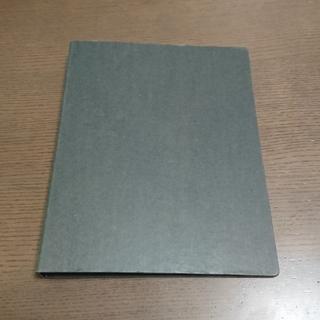 ムジルシリョウヒン(MUJI (無印良品))の無印 A5バインダー (ルーズリーフ付き) グレー 美品(ファイル/バインダー)