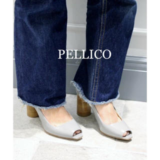 ペリーコ(PELLICO)の極美品⭐️定価49680円、PELLICO / ペリーコ オープントゥ パンプス(ハイヒール/パンプス)