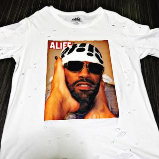 エーライフ(ALIFE)のALIFE エーライフ REDMAN レッドマン Tシャツ リメイク(Tシャツ/カットソー(半袖/袖なし))