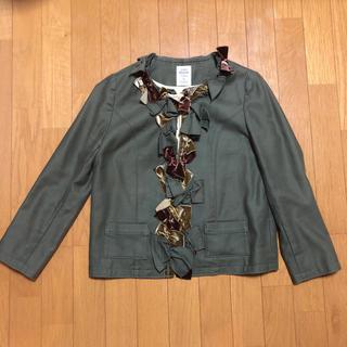 ジェーンマープル(JaneMarple)のジェーンマープルのリボンジャケット(ノーカラージャケット)