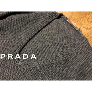 プラダ(PRADA)の美品✴︎プラダ!ざっくり編みの春デザインニット(ニット/セーター)
