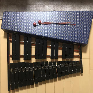 木琴 箱付き(木琴)