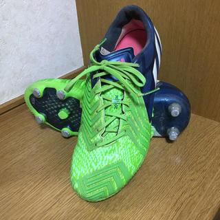 アディダス(adidas)のスパイク アディダス プレデターインスティンクトSG グリーン&ブルー 25.5(シューズ)