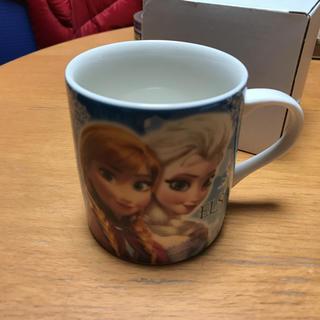 アナトユキノジョオウ(アナと雪の女王)のアナと雪の女王 マグカップ L (アナ&エルサ  ブルー)(グラス/カップ)