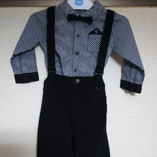 コムサイズム(COMME CA ISM)のかぁぷ!様専用⭐️COMME  CA  ISM  ベビーシャツ(セレモニードレス/スーツ)