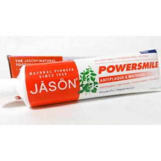 コスメキッチン(Cosme Kitchen)のJASON ホワイトニング歯磨き粉 ラウリル硫酸塩フリー(歯磨き粉)