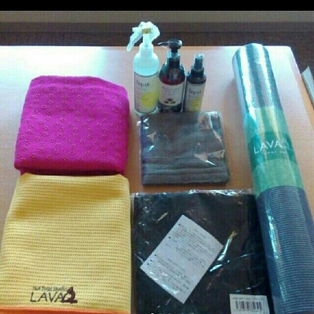 LAVA スターター 7点セット+おまけ付き スポーツ/アウトドアのトレーニング/エクササイズ(ヨガ)の商品写真