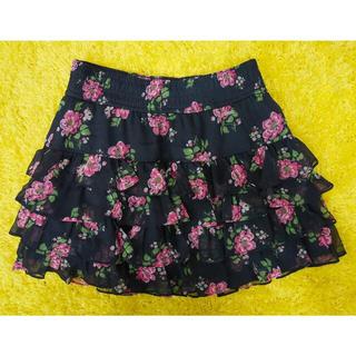 ホリスター(Hollister)の超美品★ハワイ購入★ホリスター★ティアードスカート(ミニスカート)
