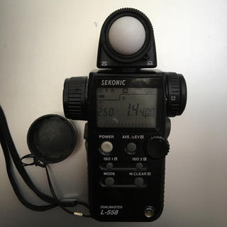 中古 セコニック デュアルマスター L-558 SEKONIC(露出計)